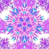 Vector illustration. Mehndi design. Ethnic binary doodle texture. Tracery seamless pattern. stock illustration
