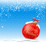 Vector illustration. Merry Christmas.  Royalty Free Stock Image