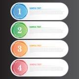 Vector Illustration Modern Banner for Design and Creative Work. The Vector Illustration Modern Banner for Design and Creative Work Royalty Free Stock Photo
