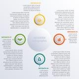 Vector illustration Modern Infographic diagram business steps Stock Photo