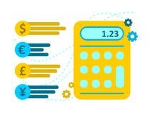 Vector illustration money bills and coins Cash Icon in flat design. Vector illustration money bills and Cash Icon in flat design Royalty Free Stock Image