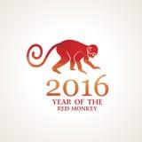 Vector illustration of monkey Royalty Free Stock Photography