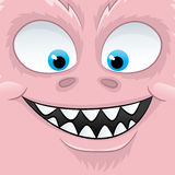Vector illustration. Monster. Royalty Free Stock Image