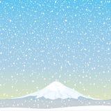 Vector illustration. Mountain. Stock Image