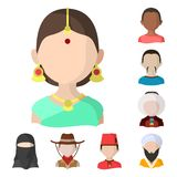 Vector design of nation and race  logo. Collection of nation and user vector icon for stock. Vector illustration of nation and race  icon. Set of nation and vector illustration