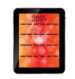 Vector Illustration. 2015 New Year Calendar. 2015 New Year Calendar Vector Illustration. EPS10 Stock Image