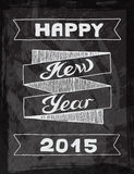 Vector illustration New year Hand drawn Royalty Free Stock Photography