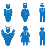 Vector illustration of nurse Royalty Free Stock Photos