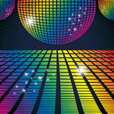 Vector Illustration Of Abstract Party Background Stock Photos
