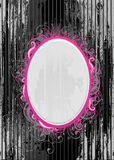 Vector Illustration Of Black And Pink Frame Royalty Free Stock Image