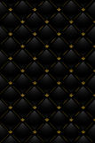 Vector Illustration Of Black Leather Background Royalty Free Stock Image