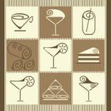 Vector Illustration Of Dessert Stock Photo