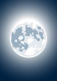 Vector Illustration Of Full Moon Stock Photos