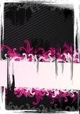 Vector Illustration Of Pink Wallpaper Stock Image