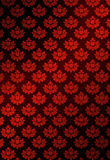Vector Illustration Of Red Wallpaper Royalty Free Stock Image
