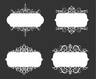 Vector illustration of old style label Royalty Free Stock Image