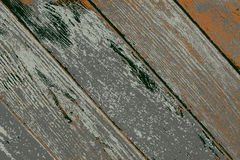 Vector illustration of an old wood texture. Vector illustration of wood texture,  ancient wall boards with chipped pieces of paint Stock Images