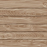 Vector illustration of old wooden planks texture Stock Images