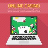 Vector illustration online casino vector illustration