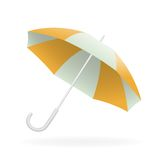 Vector illustration of opened umbrella Stock Photography