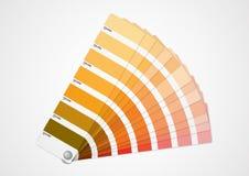 Orange colors guide Stock Photos