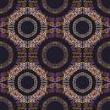 Vector illustration: oriental seamless pattern - circles Stock Image