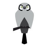 Vector illustration of owl Royalty Free Stock Photo