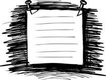 Bulletin Note. Vector illustration of paper for notes vector illustration