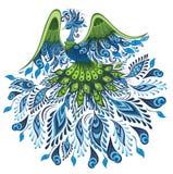 Vector illustration of peacock Stock Photos