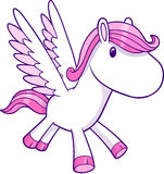 Vector Illustration of Pegasus Royalty Free Stock Photography