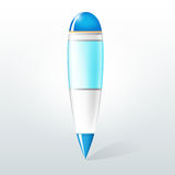 Vector illustration of a pen Stock Photos