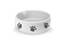 Pets Plate Stock Photography