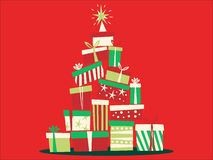 Picture of a Christmas Tree royalty free illustration