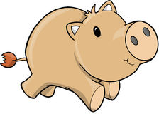 Vector Illustration of Pig Stock Photo