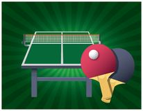 Ping Pong table boards Royalty Free Stock Image