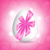 Pink card for Easter Royalty Free Stock Photography
