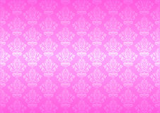 Vector pink wallpaper Stock Photography
