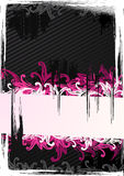Vector illustration of pink wallpaper Stock Image