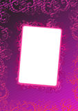 Vector illustration of pink wallpaper Stock Images
