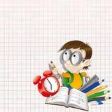 Vector illustration. Pupil. Stock Image