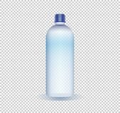 Vector illustration of a pure water bottle on a transparent background vector illustration