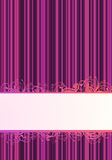 Vector illustration of purple wallpaper Royalty Free Stock Images