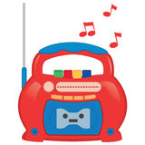 Vector Illustration Of Radio Royalty Free Stock Images