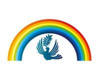 Vector illustration. Rainbow. Stock Image