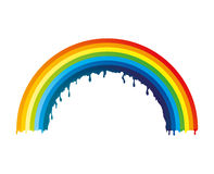 Vector illustration. Rainbow. Stock Images