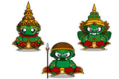 Free Vector Illustration Ramayana Royalty Free Stock Photography - 41522357