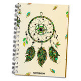 Vector illustration of realistic notebook. Royalty Free Stock Photos