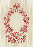 Vector illustration of a red a Royalty Free Stock Photo