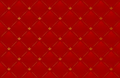 Vector illustration of red leather background Royalty Free Stock Images