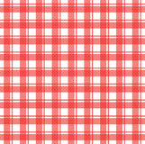 Tablecloth. Vector illustration of red tablecloth Stock Photo